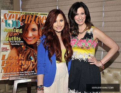 JANUARY 4TH - Seventeen Power of Friendship Luncheon Honoring Demi Lovato
