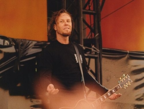 james hetfield wallpaper containing a show, concerto titled James