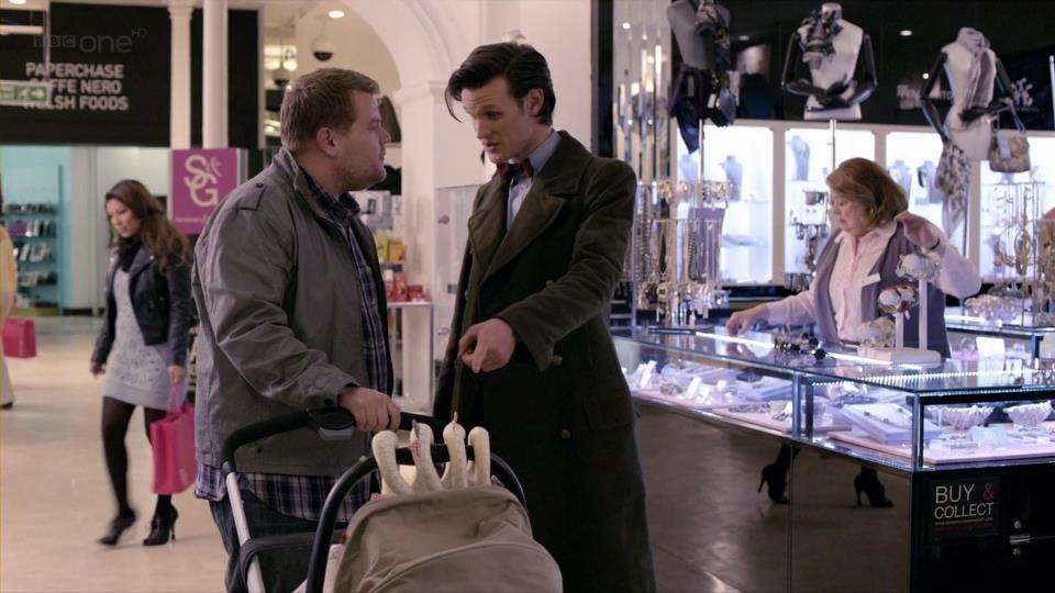 James Corden Doctor Who