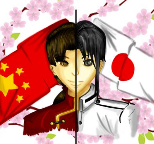 일본 x China