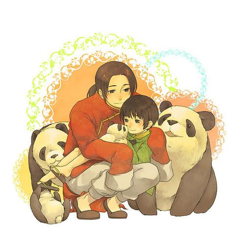 Япония x China