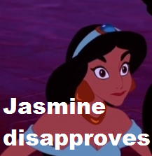 hasmin disapproves