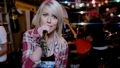 "Jenna McDougall of Tonight Alive on ""Starlight"" music video - female-lead-singers screencap"