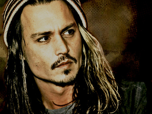 Johnny Depp wallpaper containing a portrait titled Johnny Depp ♥