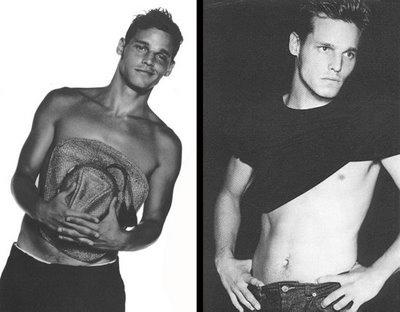 Justin Calvin Klein model