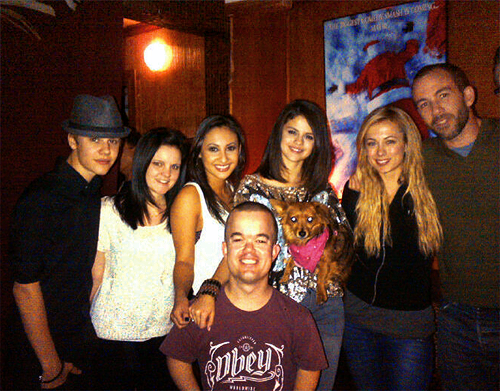Justin and Selena Laugh factory