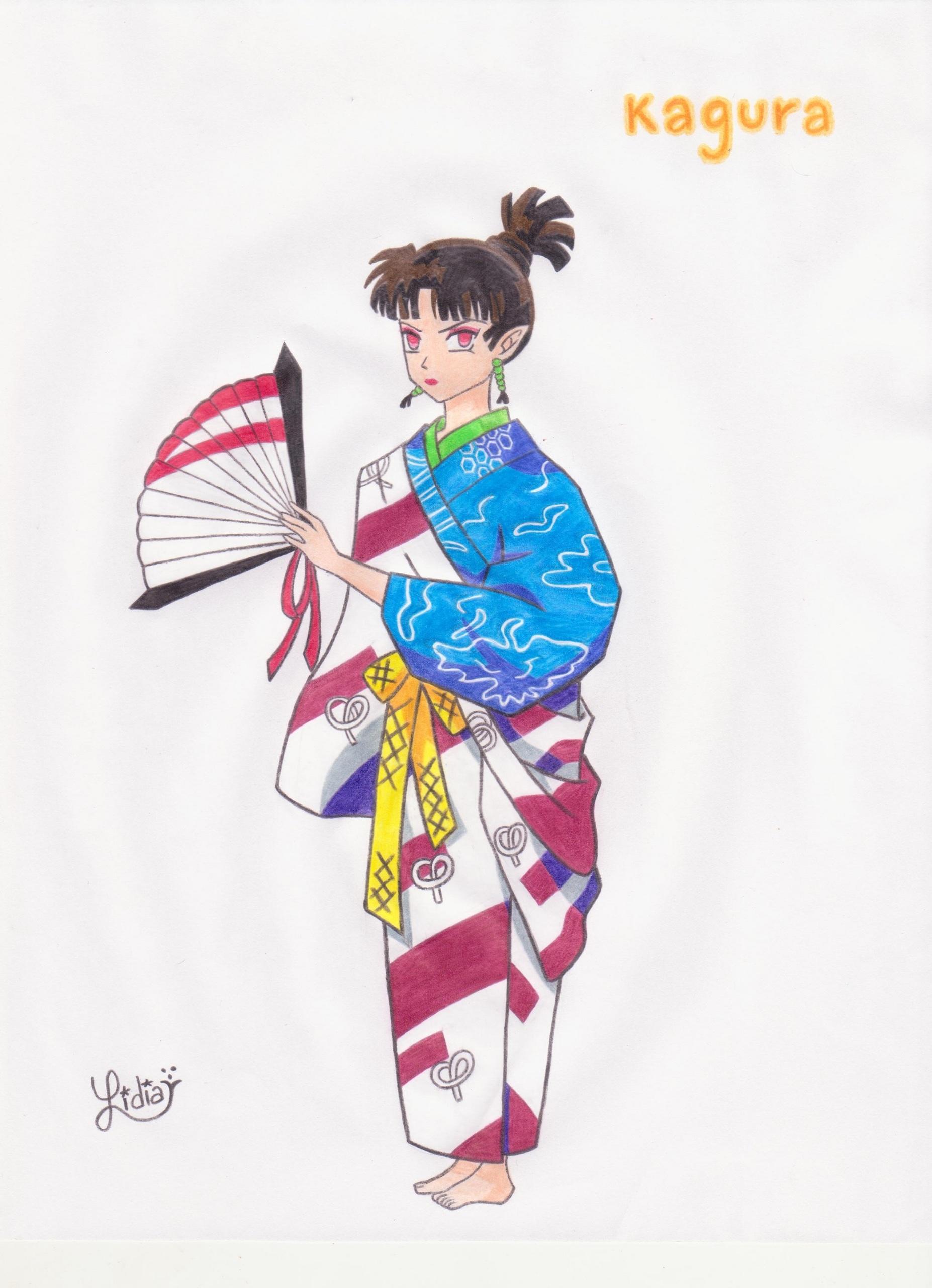 Inuyasha images Kagura HD wallpaper and background photos (28097741)