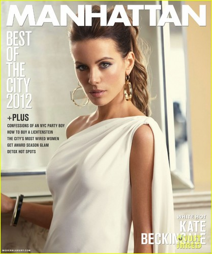 Kate Beckinsale Covers 'Manhattan'