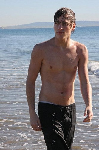 Kendall Schmidt wallpaper with swimming trunks called Kendall
