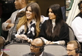 Kim and Khloe at the Dallas Mav. Game - 01/04/12 - khloe-kardashian photo