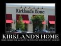 Kirkland's home pagina