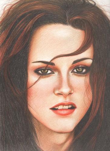 Kristen Stewart Drawing