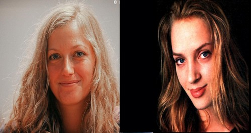 Kvitova and Thurman look alike
