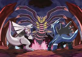 Legendary Dragon pokemon Trio