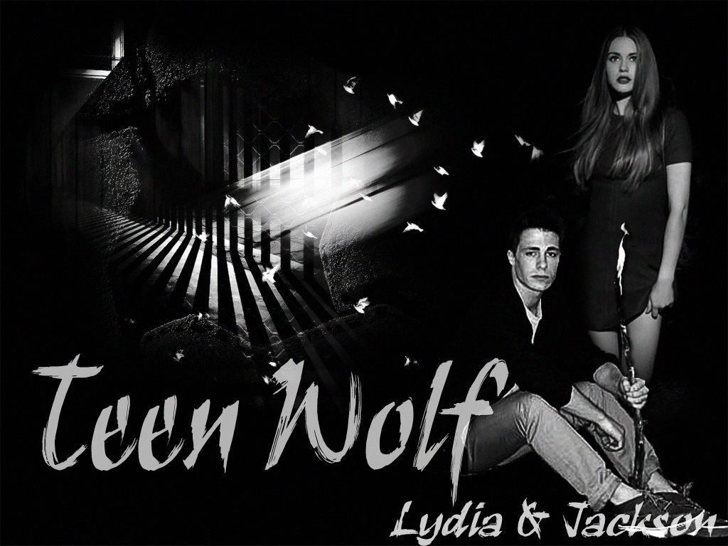 Lydia and Jackson - teen lobo wallpaper
