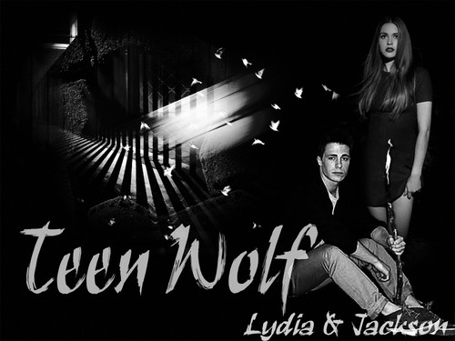 Teen lupo wallpaper containing a concerto titled Lydia and Jackson