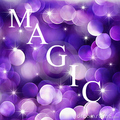 M A G I C - purple photo