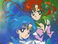 sailor-mercury - Makoto and Ami wallpaper