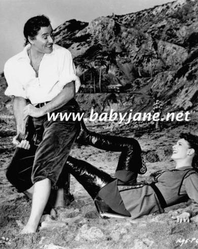 Maureen & Errol Flynn