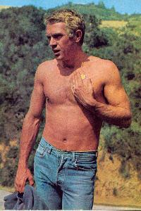 Steve McQueen wallpaper probably containing a hunk and a six pack titled McQueen