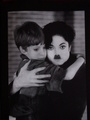 Michael as Charlie and an unknown boy as John - the-kid photo