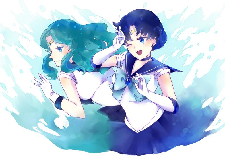 Michiru and Ami