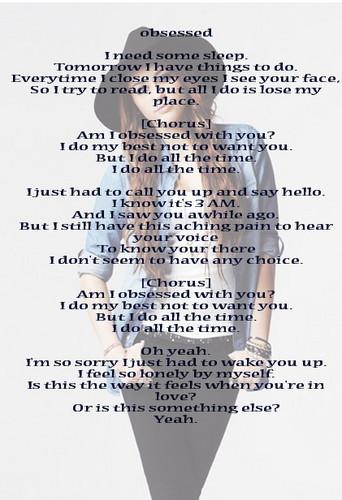 Miley - Obsessed lyrics