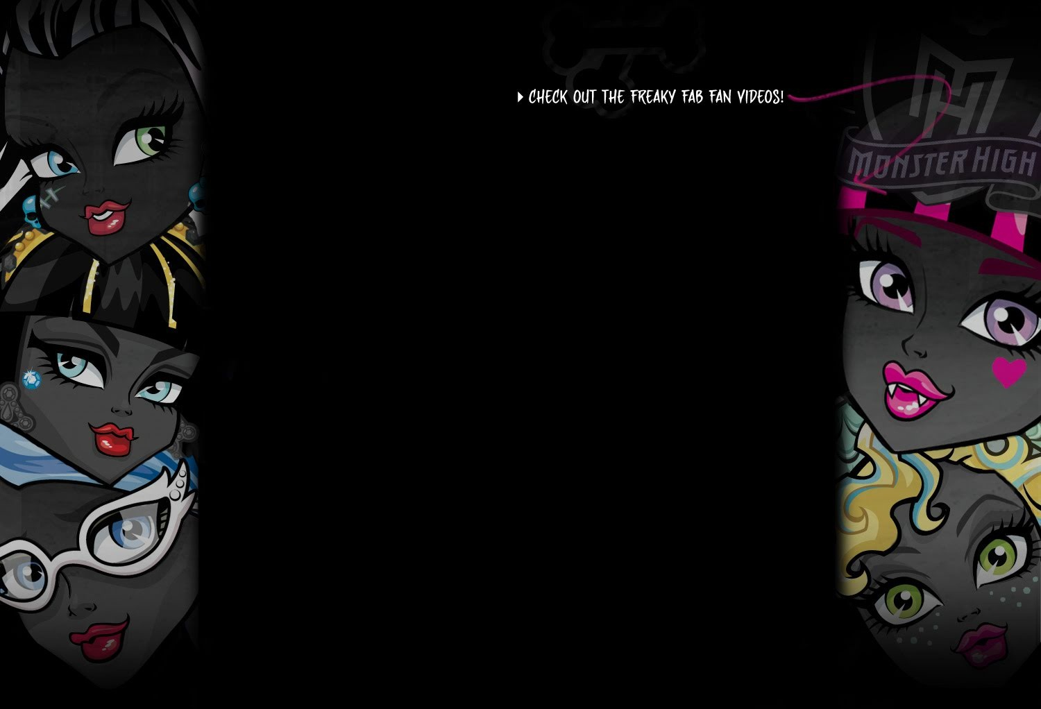 Fondos De Pantalla De Monster High: Monster High: Nuevo Fondo De Pantalla Monstruoso