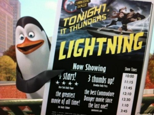 Movie Time With Kowalski!
