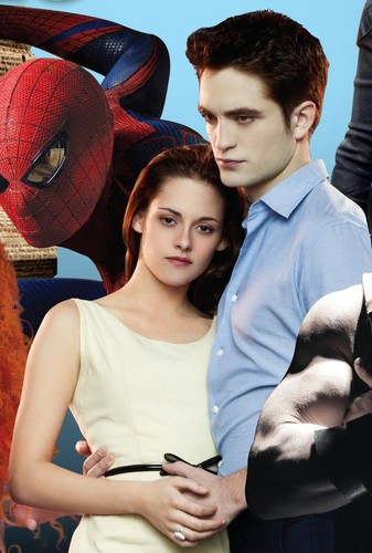 NEW: Robert Pattinson and Kristen Stewart from Breaking Dawn Promotional Image