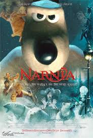 Narnia the lion, the witch, and the were-rabbit
