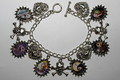 Nightmare Before Christmas Altered Art Charm Bracelet - nightmare-before-christmas photo