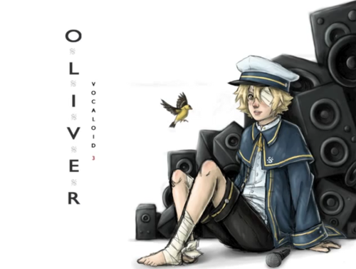 Vocaloid Oliver fond d'écran probably with a hip boot titled Oliver
