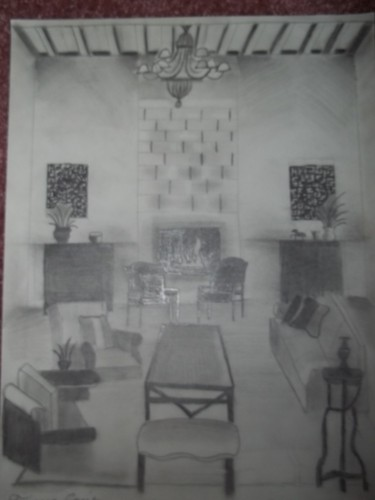 One Perspective Shaded Drawing