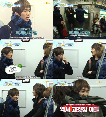Onew at Hello Baby