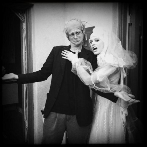 Paget and Matthew on Halloween!