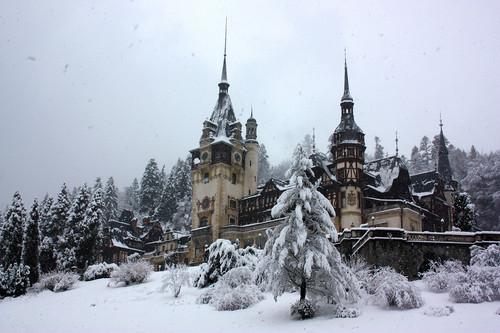 Peles kasteel in Romania