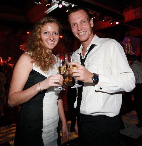 Petra Kvitova and Tomas Berdych 2012