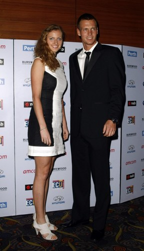 Petra Kvitova and Tomas Berdych 2012 - youtube Photo
