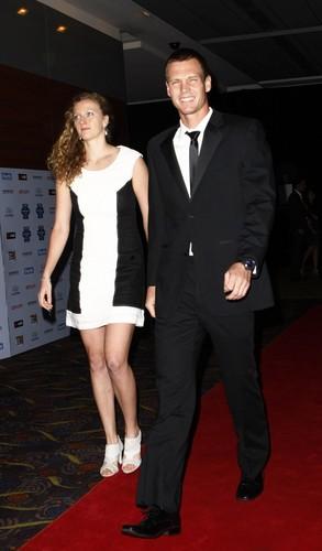Petra Kvitova and Tomas Berdych Hopman Cup 2012