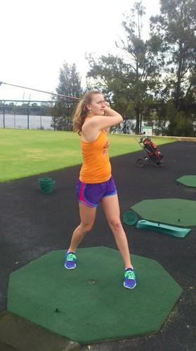 Petra Kvitova golf
