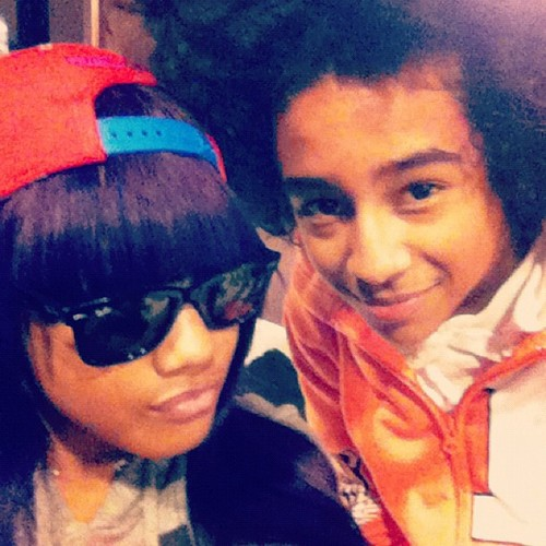 Princeton (Mindless Behavior) پیپر وال containing sunglasses entitled Princeton&Babydoll (: