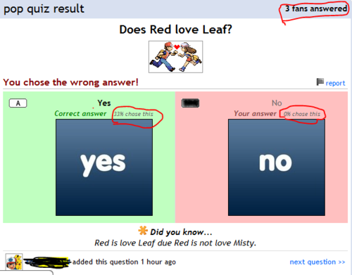 Quiz Fail - fanpop-fail Screencap