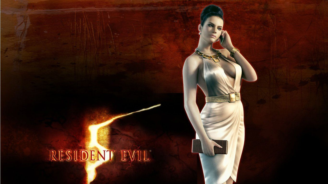 Resident evil 5 excella gionne nude nackt scene
