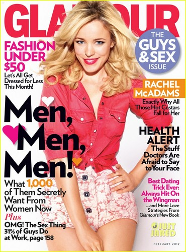 Rachel McAdams Covers 'Glamour' February 2012