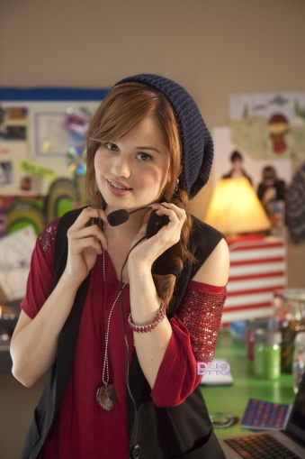 Radio Rebel (2012) > Behind the Scenes - debby-ryan photo