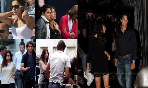 Rafa Nadal and Xisca in 2011 : Almost break up relationship !