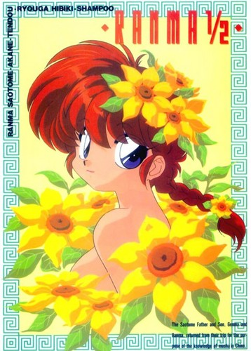 Ranma 1 2 ( Ranma Saotome) _ boy changed girl