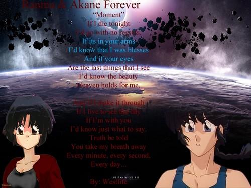 "Ranma & Akane ""Moment"""