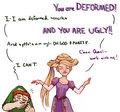 Rapunzel & Quasimodo